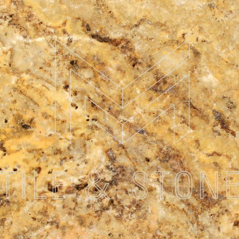 Scabos Travertine Tile - (Cross-cut) 12x12  3/8 Filled & Polished