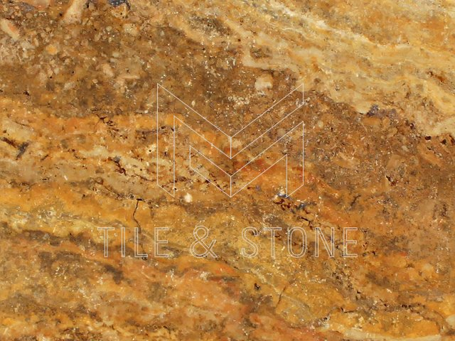 Scabos Travertine Tile - (Vein-cut) 12x24  3/8 Filled & Polished